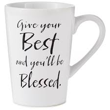 best mug give your best mug 15 oz mugs u0026 teacups hallmark