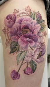 15 no line flower tattoos you must love tattoo black and tatting