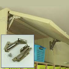 top hinge kitchen cabinets pair of cabinet door lift up flap top support kitchen hinges stay sprung