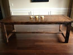 diy rustic dining table plans dining table diy diy square