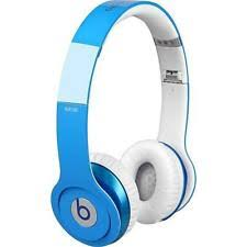 Light Blue Beats Beats By Dr Dre Headband Headphones With In Line Control Ebay