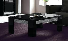 black glass top end tables coffee table black glass top medium size of glass for coffee table