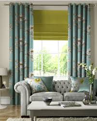 window treatments blinds and curtains together sky pastel pale