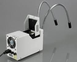 microscope fiber optic light source amscope hl250 ay dual gooseneck fiber optic stereo microscope light