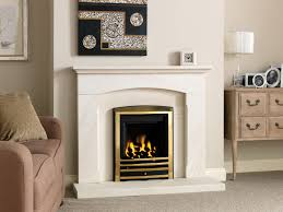 fireplace design ideas features white rectangle top shelf and
