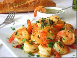 comment cuisiner les crevettes congel馥s crevettes sautées ail et persil le cuisine de samar