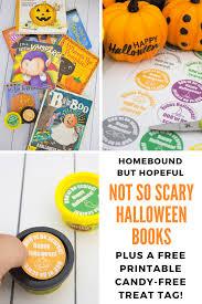 all treats no tricks with a halloween book list u0026 freebie