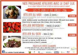 cours de cuisine lomme planning des prochains ateliers de cuisine marché de gros lille