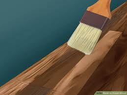 Homemade Wood Stain Learn To Make Natural Stain At Home by How To Finish Wood 15 Steps With Pictures Wikihow