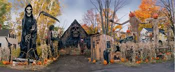 cool halloween yard decorations haunted overload haunted overload pinterest
