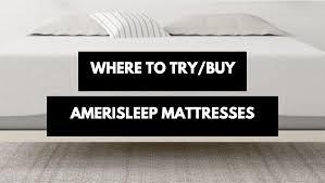 Sleep Number Bed Store Cincinnati Try And Buy Amerisleep Mattresses Dealers And Stores