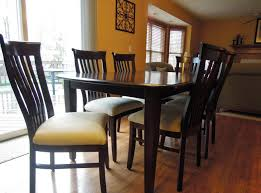 bench an awesome simple cherry dining room table and chairs in a