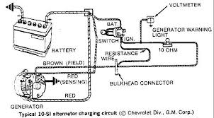 wiring diagram for gm one wire alternator u2013 the wiring diagram