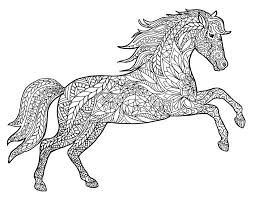 coloring pages horses coloring