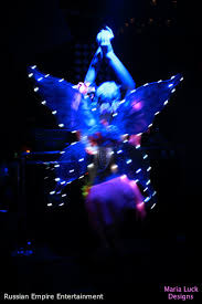 light up fairy wings led glow maria luck designs