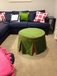 how to make a no sew round ottoman part 1 sew round ottoman and
