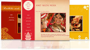 marriage invitation websites online wedding invitations free beautiful myshaadi in