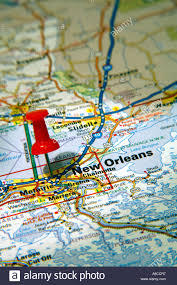 Map New Orleans by Map New Orleans Stock Photos U0026 Map New Orleans Stock Images Alamy