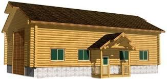 customize log garage u0026 log barn kits or log sided