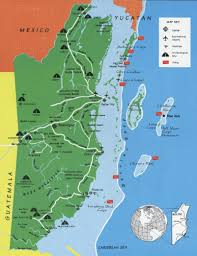 Blank Map Of Belize by A Guide To Visiting Maya Ruins In Belize Belize Maya Ruins