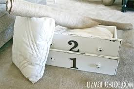 Upcycled Drawer Pet Bed Diy by Drawer Dog Beds Liz Marie Blog