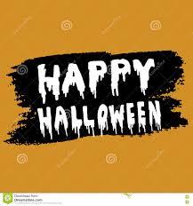 happy halloween handwritten stock vector image 77516257