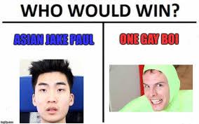 Asian Gay Meme - who would win meme imgflip