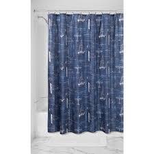 Sailboat Shower Curtains Interdesign Sailboat Shower Curtain Reviews Wayfair