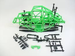 monster jam grave digger rc truck axial smt10 monster jam grave digger truck tube chassis cage links