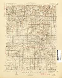 map of pairs missouri historical topographic maps perry castañeda map