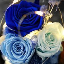 shabby chic crystal ring holder images Glass roses led night light