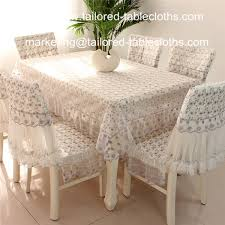 tablecloths and chair covers amazing luxury embroidered lace tablecloth and chair cover