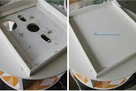 lazy susan liners remodelando la casa diy wire spool desk