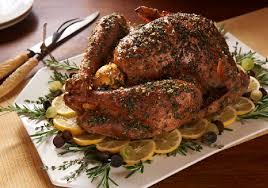 savory turkey rub with dandy meyer lemon fresh herbs and
