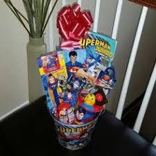 kids filled easter baskets batman pre filled easter basket gift dccomics justiceleague
