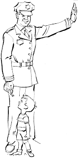 wonderful police coloring page 10 5390