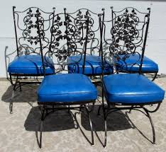 Wrought Iron Vintage Patio Furniture by Wrought Iron Patio Set Patios Porches U0026 Balconies Ideas