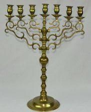 vintage menorah menorah antique brass ebay