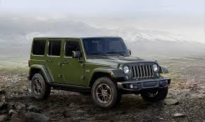 jeep sahara 2016 white jeep celebrates 75 years with anniversary editions u2013 expedition portal