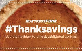 mattress firm thanksavings black friday sale current sleep news