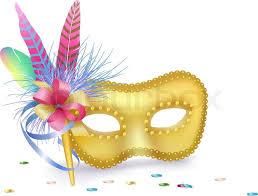 carnival masks carnival venetian mask isolated stock vector colourbox