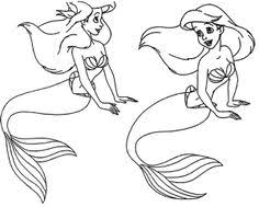 princess ariel mermaid coloring princess ariel