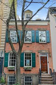 Townhouse Or House by Aaron Burr Once Owned This 5 5m West Village Townhouse Curbed Ny