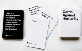 cards against humanity for sale cards against humanity scholarship the accelerator