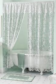 See Through Shower Curtain Best 25 Lace Shower Curtains Ideas On Pinterest Rustic Shower