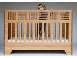 Cribs Bed Eco Friendly Io Crib From Kalon Studios Can Be Used Until Age 6