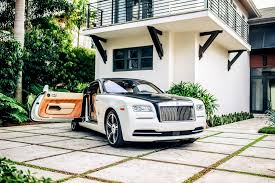 luxury cars rolls royce rolls royce wraith white miami exotics exotic car rentals