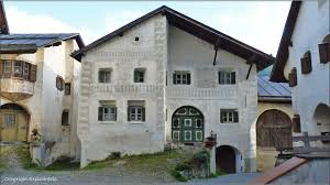 Haus In Haus Typisches Engadiner Haus In Guarda Foto U0026 Bild Europe Schweiz