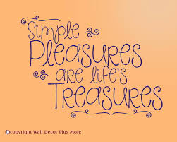 simple pleasures are life s treasures wall decals stickers quote wall decals vinyl stickers in purple inspirational quotes wall letters art graphic loading zoom