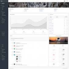 15 best html5 admin dashboard templates